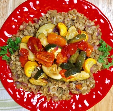 Lebanese Lentil Rice 2